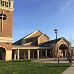 Photo taken at St. Mark's Catholic Church by John S. on 4/18/2014