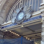 Photo taken at London Waterloo Railway Station (WAT) by devo on 7/19/2013