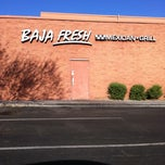 Photo taken at Baja Fresh Mexican Grill by Georgie M. on 10/12/2011