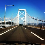 Photo taken at 大鳴門橋 by uny747 on 10/9/2012