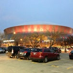 Photo taken at Mercedes-Benz Superdome by Tom M. on 1/2/2013