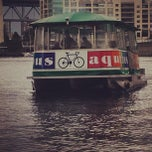 Photo taken at Aquabus Granville Island Dock by Marc S. on 5/25/2013