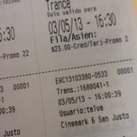 Photo taken at Cinemark San Justo by Sari S. on 5/3/2013