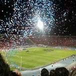Photo taken at Estadio Nacional Julio Martínez Prádanos by Caroline S. on 3/27/2013