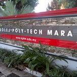 Photo taken at Kolej Poly-Tech MARA Kuala Lumpur by manhadi a. on 6/8/2013