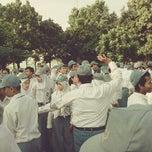 Photo taken at Lapangan Sepak Bola SMA Negeri 8 Yogyakarta by Rihadatul A. on 5/6/2013