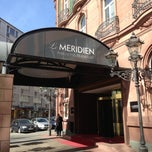 Photo taken at Le Méridien Parkhotel Frankfurt by Hrishikesh L. on 3/6/2013