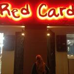 Photo taken at Red Card Cafe by Ayra M. on 12/2/2012