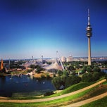 Photo taken at Olympiapark by Olga S. on 8/16/2013