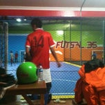 Photo taken at Futsal 35 by Ridwan F. on 2/4/2013