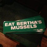 Photo taken at Bertha's by Mark H. on 1/5/2013