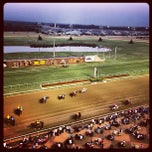 Photo taken at Lone Star Park by Elysa E. on 7/4/2013