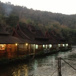 Photo taken at River Kwai Village Hotel Kanchanaburi by Арман Е. on 1/16/2013