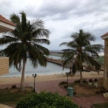 Photo taken at Blue Beach Resorts || شاليهات الشاطئ الأزرق by Abdullah S. on 1/31/2013