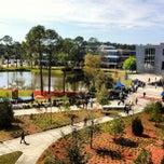 Photo taken at University of North Florida by John S. on 3/7/2013