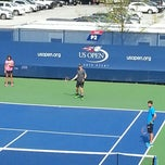 Photo taken at Practice Courts (1-5) - USTA Billie Jean King National Tennis Center by Michael R. on 9/1/2014
