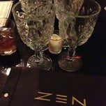 Photo taken at ZEN Asian Bistro by Maria N. on 1/1/2013