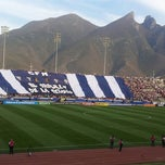 Photo taken at Estadio Tecnológico by Janette P. on 3/13/2013