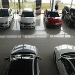 Photo taken at Mercedes-Benz by Rıfat Ç. on 3/7/2013