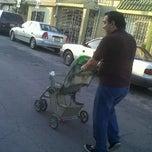 Photo taken at Calle Cerezo Rosa by Karina J. on 3/23/2012