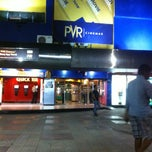 Photo taken at PVR Saket by Hritu R. on 4/1/2013