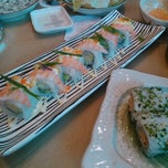 Photo taken at Sakae Sushi by Асел Д. on 9/22/2013