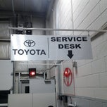 Photo taken at Crown Motors Toyota Volkswagen by Dennis O. on 1/7/2013