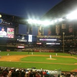 Photo taken at Chase Field by Mary D. on 4/26/2013