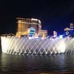 Photo taken at Fountains of Bellagio by Kelly L. on 6/10/2013