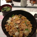 Photo taken at Wagamama by Dina D. on 12/17/2012
