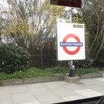 Photo taken at Boston Manor London Underground Station by Veiko K. on 4/15/2013