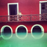 Photo taken at Hacienda Santa Rosa by Cristina S. on 4/18/2013