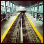 Photo taken at MBTA Ashmont/Peabody Square Station by A.P. Blake on 8/3/2013