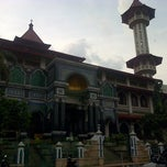 Photo taken at Masjid Agung Cianjur by Egy Syahril M P. on 7/30/2014