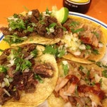 Photo taken at Tacos Álvaro Obregón by ernesto g. on 12/14/2012