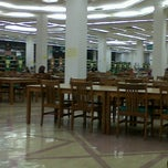 Photo taken at IIUM Library by Siti M. on 3/14/2013