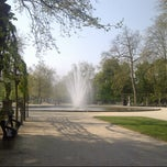 Photo taken at Warandepark / Parc de Bruxelles by Dominique F. on 5/7/2013