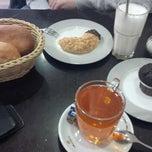 Photo taken at Bäckerei Café Tuna by Jorge Job V. on 2/7/2015