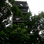 Photo taken at Jelutong Tower by Adeant Alfa P. on 9/4/2011