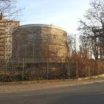 Photo taken at Schwerbelastungskörper by Boyan B. on 3/6/2013