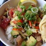 Photo taken at Sango Sushi by tomomi m. on 5/23/2014