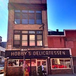 Photo taken at Hobby's Delicatessen by Andrew A. on 9/19/2013