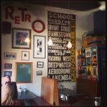 Photo taken at Retro Cafe by Lee on 3/13/2013