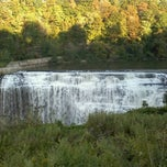 Photo taken at Lower Falls Park by Debi B. on 9/15/2012