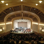 Photo taken at Macky Auditorium by Ethan D. on 1/13/2013