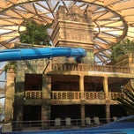 Photo taken at Ramada Resort Aquaworld Budapest by Richard S. on 11/4/2012