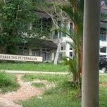 Photo taken at Fakultas Peternakan by Evryn N. on 2/8/2013