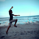 Photo taken at Pantai Segara Ayu by Wayan S. on 4/30/2013
