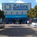 Photo taken at Carrefour Zahira by Daniel V. on 1/15/2013
