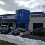 Photo taken at College Hills Honda by Dustin R. on 2/26/2014